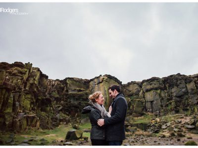 Ilkley Moor Engagement Photo Shoot