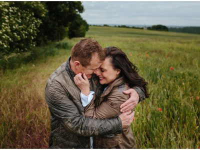 Lost in the poppy fields - Engagement Shoot